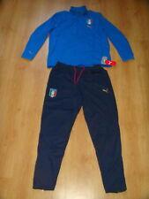 Italy Soccer Tracksuit Italia Puma RARE Top Pants Football Training Suit Blue XL