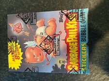 1987 Topps Garbage Pail Kids 8th Series Box W/ 48 Packs & Poster BBCE Authentic