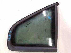 Rear Right Passenger Window Quarter Glass   Fits 1998-2005 Volkswagen Passat