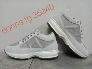 scarpe HOGAN donna Interactive N. 37 VERA PELLE spedizione CORRIERE 24h