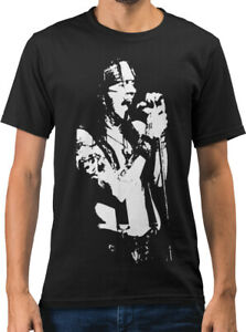 Axl Rose Rock Icon Caricature New Mens T-shirt