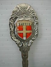 * B CUILLERE DE COLLECTION SPOON - RESINE - SAVOIE BLASON