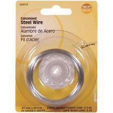 100 Pk Hillman 28 Ga X 100' Galvanized Steel General Purpose Wire 123117