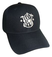 Smith Wesson Baseball Hat Navy Blue Adjustable Back OSFM PreCurved Baseball Cap