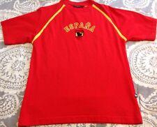Men's Spain Soccer  España Red Shirt Sz S World Cup Short Sleeve Bull Toro