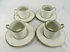 Williams Sonoma Espresso Set ~  4 Cups 4 Saucers  -  New in Box