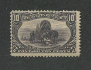 1898 United States Postage Stamp #290 Mint Never Hinged Original Gum
