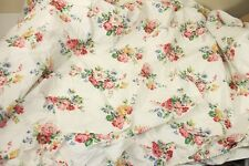 "Ralph Lauren Vintage ""Claire"" Floral Full Flat and Fitted Sheet Set"