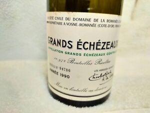 (empty) 1990 DRC GRANDS ECHEZEAUX ROMANEE CONTI Bottle From Japan