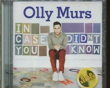 OLLY MURS - IN CASE YOU DIDN'T KNOW on CD -