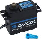 Savox SW1211SG-BE Black Edition Waterproof High Speed Servo + 25t Horn
