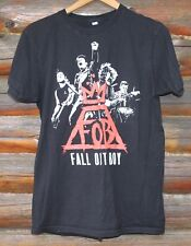 Fall Out Boy Mens Size M Concert T-Shirt 2014 Monumentar Tour Dates on Back