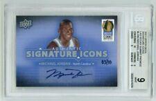 Michael Jordan 2011 Upper Deck Signature Icons auto, autograph BGS 9, Auto 10