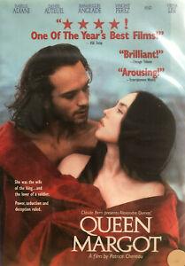 Queen Margot DVD Biography Drama - Reg 1 French English Subtitles