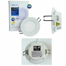 Philips 10W LED Essential SmartBright 3000K Downlight Kit with Plug DN024B NEW