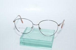 Vintage Marchon Eyeglasses Frames Chrome Italy