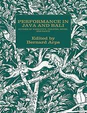 Performance in Java and Bali by Arps, B.