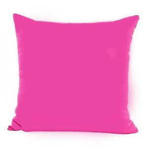 Indian Small To Large Cushion Cover Plain Cotton Of All Size Pillow Covers Throw