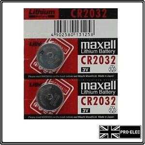 2X QUALITY CR2032 KEY FOB BATTERY FOR: FORD GALAXY S MAX C MAX COUGAR KUGA KA