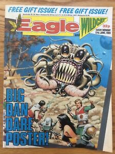 Eagle and Wildcat 17/6/89 Dan Dare, Doomlord, Computer Warrior, IPC UK comic