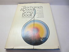 The Bacharach & David Song Book with an introduction by Dionne Warwick hardback