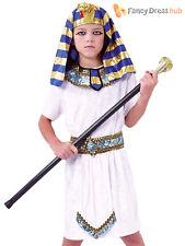 Childs Pharaoh Kit Boys Girls Egyptian Fancy Dress Historical Book Week Costume