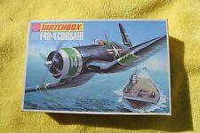 Matchbox 1/72 PK-14 Corsair F4U-4 1973 tema completo nuevo viejo Stock