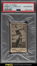 1925 W590 Strip Card Bobby Jones Jr. ROOKIE RC PSA Auth