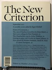 New Criterion Chamberlain Trap Yale's New Colleges Sept 2017 FREE SHIPPING JB
