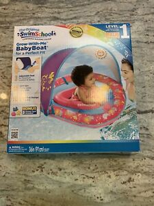 Swim School Perfect Fit Baby Boat with Adjustable Seat 6 to 24 Months Level One