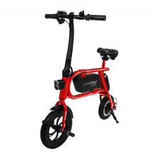 Refurbished Swagtron 200W SWAGCYCLE Envy Steel Frame Folding Electric Bicycle
