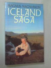 Iceland Saga By Magnus Magnusson. 9780370310749