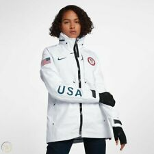 Nike Women's USA Olympic Medal Stand GORE-TEX NikeLAB Jacket 916685-100 Size M