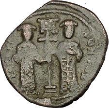 Constantine X & Eudocia 1059AD Ancient Byzantine Coin Jesus Christ  i54208