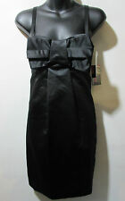 Dress French Connection Size 6 Small Sundress Black Big Bow at Chest NWT G190