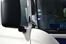 Scania R/P/G 2009-2016 Chrome Mirror Bracket Trim Cover 2Pieces Stainless Steel