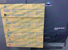 Genuine Konica Minolta CMYK TONERS- Bizhub PRESS C6000 FULL SET TN616C,M,Y,K NEW