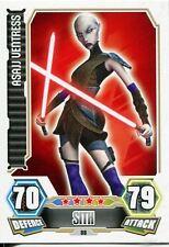 Star Wars Force Attax Series 3 Card #88 Asajj Ventruss