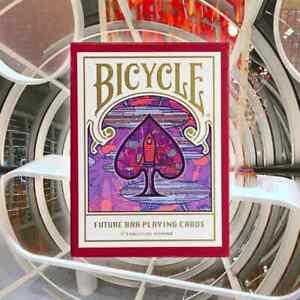 1 DECK Bicycle Future Bar (Japan) playing cards USA SELLER!