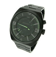 NEW DIESEL STAINLESS STEEL LED 100M MENS WATCH DZ1415
