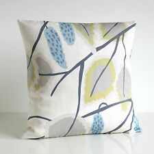 100% cotton CUSHION COVER, 18x18, Made in UK #CADE