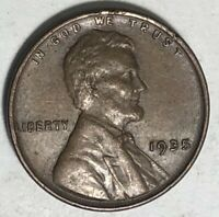 1935 Lincoln Wheat Cent XF  Very Nice 1930's Coin!