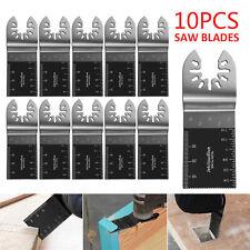 10pcs Bi-metal Oscillating Multi Tool Saw Carbide Blades Cutter For Fein Makita