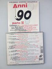 COLONNA SONORA - ANNI 90 PARTE II - CD