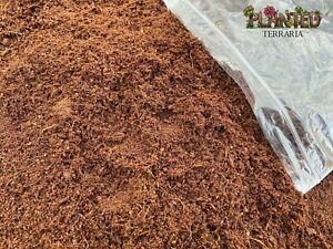 PlantedTerraria READY TO USE Coco Fibre - Coir Reptile Substrate Humus Terrarium