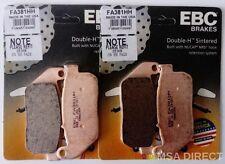 HARLEY DAVIDSON XL883R (2005 TO 2013) EBC Pastillas de freno sinterizadas