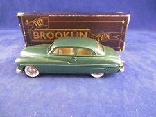 Brooklin Models BRK15 1949 Mercury 2 Door Coupe in Dark Metallic Green