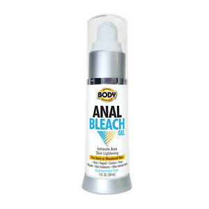 Body Action Anal Bleach | Full Body Safe Skin Lightening Gel | 1oz Bottle