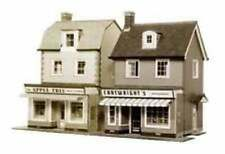 Superquick OO Gauge Two Country Town Shops Card Kit B22