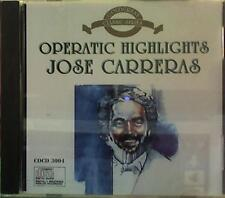Operatic Highlights - Jose Carreras (1993 Goldcrest) CD - VERY GOOD CONDITION!